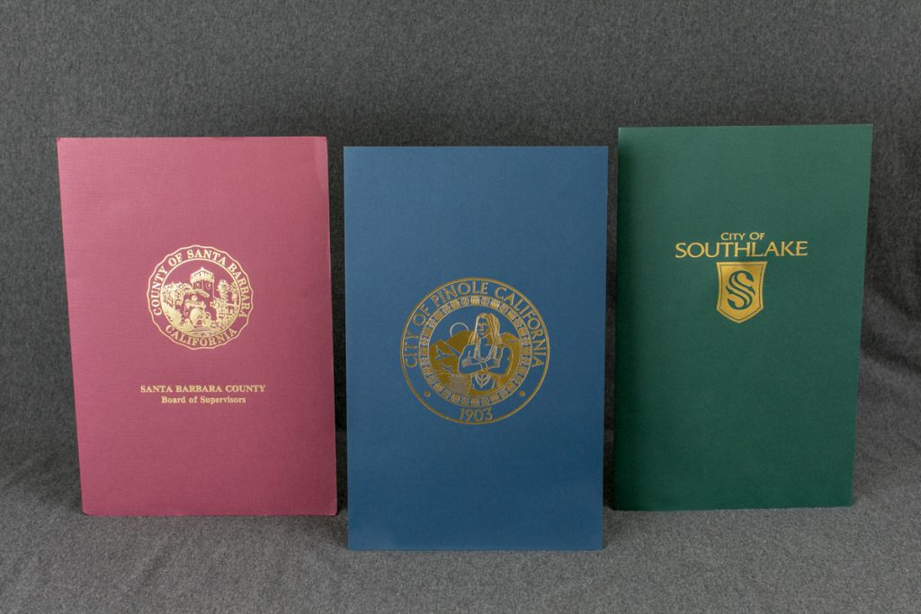 Proclamation covers by Minute Books
