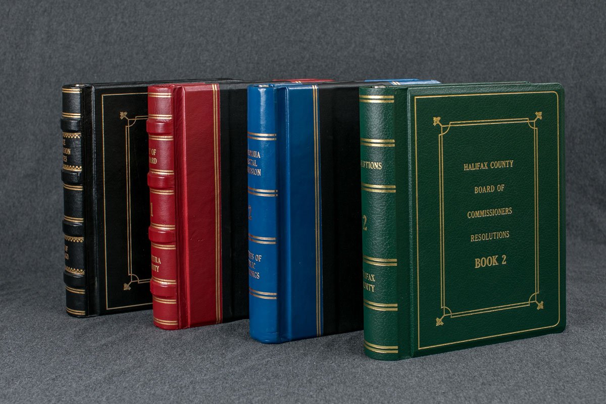 Custom Minute Books by Lautzenhiser's Minute Books