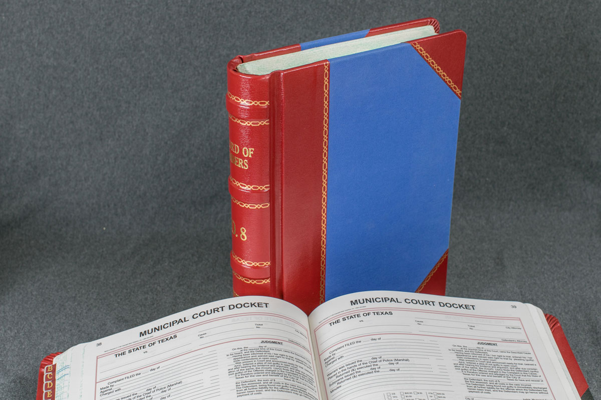 image example of Minute Press Bound Books